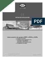 Application Notes, Interfacing DEIF Equipment 4189341003 ES