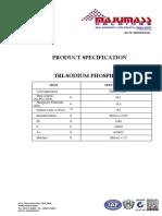 Trisodium Phosphate Spec