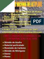 Limites Max Permisibles