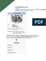 Greve Geral No Brasil Em 1917