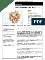 Hoja de impresión de Arroz frito con gambón (Prawn fried rice).pdf