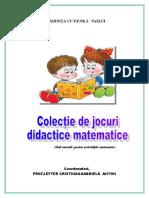 Colectie de Jocuri Didactice Matematice