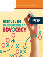Manual Plane Ac i on Advocacy