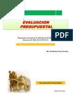 5. EVALUACION PRESUPUESTAL 2012.ppt