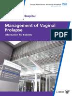 10 124 Management of Vaginal Prolapse