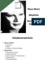 Mephisto- Klaus Mann
