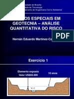 1 Exemplo de Analise de Risco