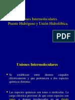 Fuerzas Intermoleculares 2009-1