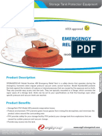Emergency Relief Vent Model No 400