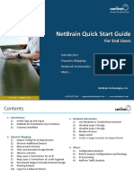NetBrain End User Quick Start Guide
