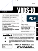 Teac Vrds 10 Mode d'Emploi French