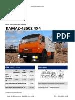 Kamaz 43502 4x4 24 Pasajeros v 2.0