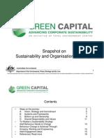 Snapshot on Sustainability and Organisational Change