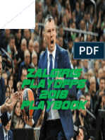 Zalgiris Playoffs 2018 Playbook