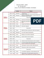 Algeria Programme Séminaire
