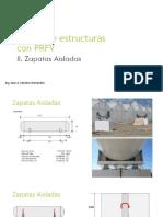Zapatas Aisladas armadas mediante barras de PRFV