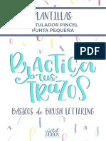 Plantillas Rotulador Lettering