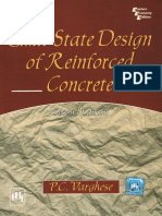 Limit State Design of Reinforced Concrete - PC Varghese