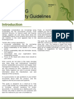 Sustainable Tendering Guidelines