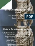 Historia Constitucional de Roma (1)