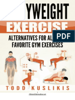 Bodyweight Alternatives