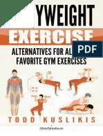 Bodyweight Alternatives