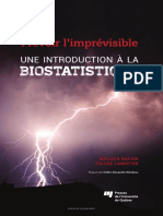 Une Introduction a La Biostatistique