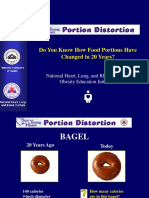 portion distortion game
