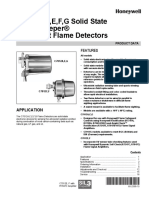 Sensor de Llama Honeywell C7012 Purple Peeper
