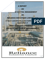 Report on Working Capital Mgmt 1