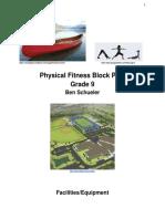 mr shoe - fitness block plan