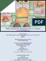 Bibi Fatemah Massouma e Qum