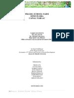 Developmental Economics School Farm Proposal