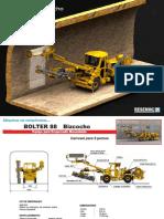 Especificaciones Bolter 88D Bizcocho ESP