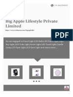 Big Apple Lifestyle Private Limited