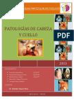 Caratula Del Seminario de Patologías de Cabeza y Cuello