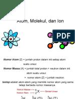 chemistry - Atom, Molekul, Ion.
