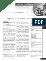 Importancia Del Contrato Compra-Venta Internacional