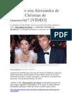 Quiénes son Alessandra de Osma y Christian de Hannover.docx