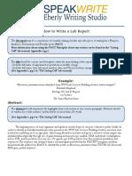 writing studio lab report  - final ag