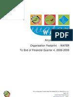 Sample Footprint Water