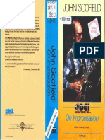 John Scofield on Improvisation (Video Booklet)