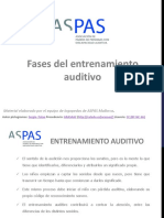 Fases Del Entrenamiento Auditivo1