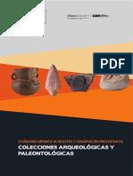 ESTÁNDARES MÍNIMOS DE REGISTRO Y CONSERVACIÓN PREVENTIVA DE COLECCIONES ARQUEOLÓGICAS Y PALEONTOLÓGICAS