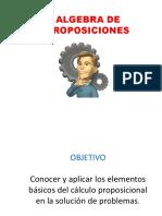 Algebra de Proposiciones