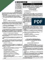 D.S. No. 043-203-PCM - Que Aprueba El TUO de La Ley de Transparencia y Acceso a La Información Pública.