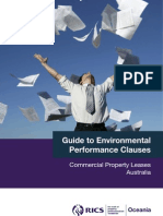 Guide to Energy Performance Clauses