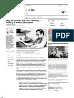 Rodolfo J. Walsh y El Nuevo Periodismo