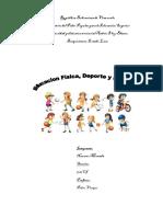 Cuadro Comparativo sobre Educación Física, Deporte y Recreacion