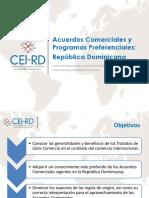 Acuerdos Comerciales y Programas Preferenciales